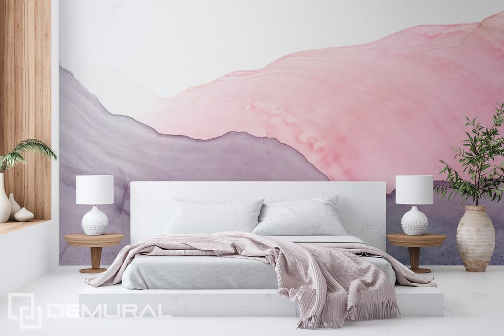 Pastel energy for the bedroom Bedroom wallpaper mural Photo wallpapers Demural
