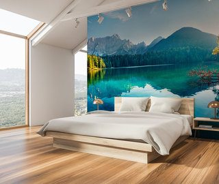 the lake house is a great choice bedroom wallpaper mural photo wallpapers demural
