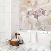 A-composition-of-delicate-petals-bathroom-wallpaper-mural-photo-wallpapers-demural